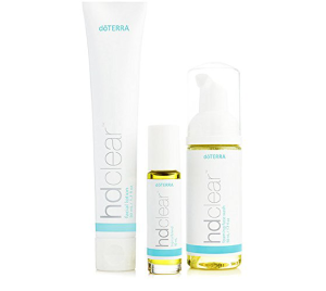 doterra hd clear skin kit