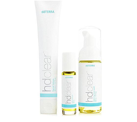 Doterra HD Clear Acne 3 Step Treatment